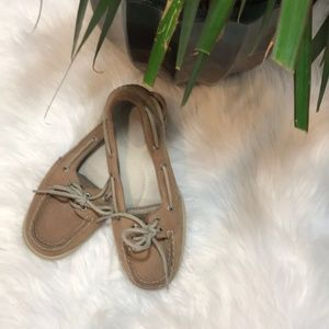 Sperry topsider angelfish leather boat shoes